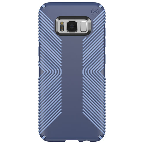 Speck Presidio GRIP Fitted Hard Shell Case for Galaxy S8 - Blue