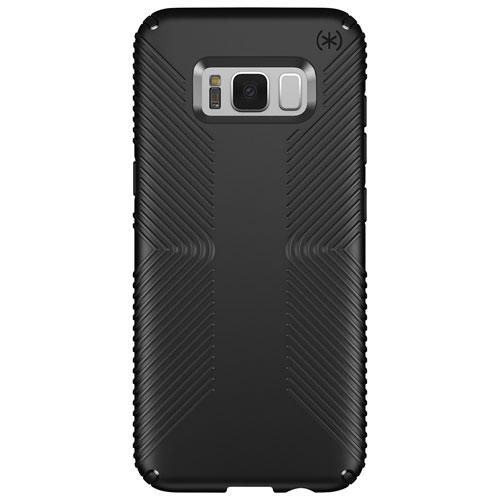 Étui rigide ajusté Presidio GRIP de Speck pour Galaxy S8 Plus - Noir
