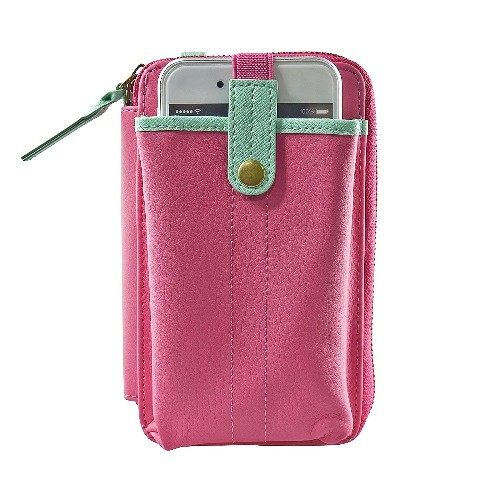 Navor Wallet Case for Moto X - Hot Pink