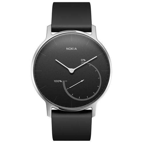 Nokia Steel Fitness Tracker - Black
