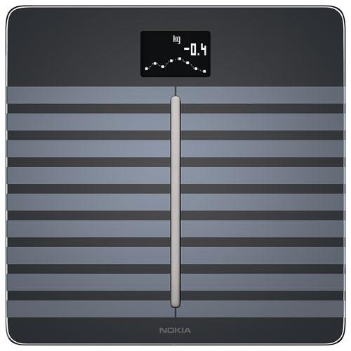 Nokia Body Cardio Wi-Fi Smart Scale & Body Analyzer - Black