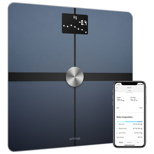 nokia body wi fi smart scale body analyzer black scales