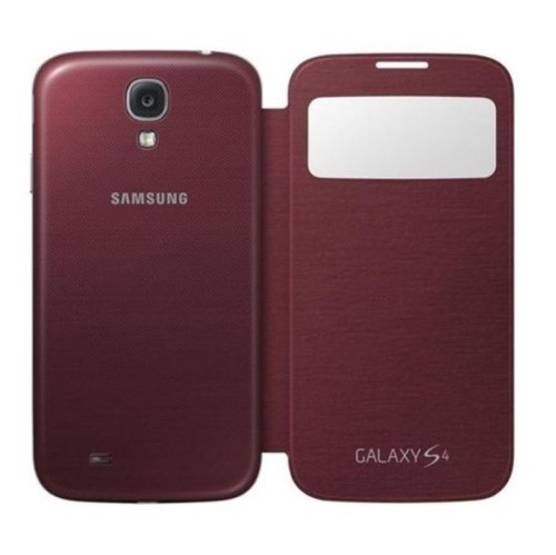 Flip Case for the Samsung Galaxy S4 - Maroon