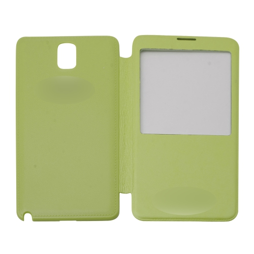 Samsung Case Flip Cover for Galaxy Note 3 - Green