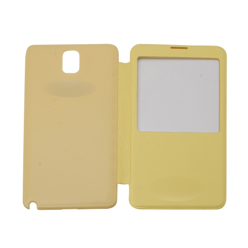 Samsung Flip Cover for Galaxy Note 3 - Yellow