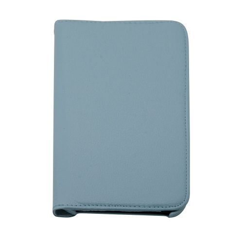 "360 Rotating Leather Hard Case Cover For Samsung Galaxy Tab 3 7.0"" T210 Tablet - Baby Blue"