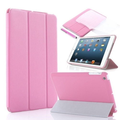 Ultra Slim Smart Leather Case Cover for New Apple iPad Air - Baby Pink