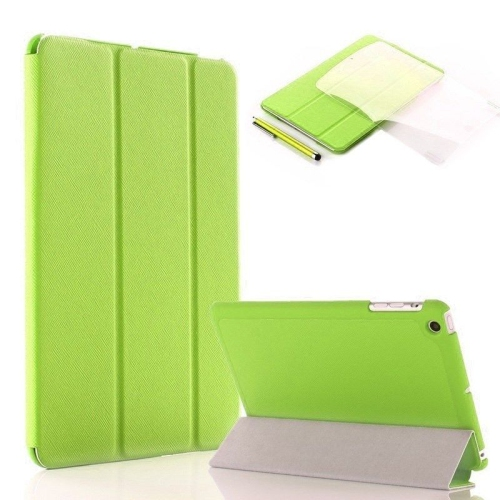 Ultra Slim Smart Leather Case Cover for New Apple iPad Air - Green