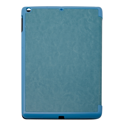 Ultra Slim Smart PU Leather Case Cover for New Apple iPad Air - Teal