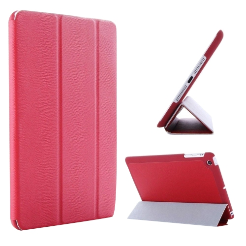 Ultra Slim Smart Leather Case Cover for New Apple iPad Air - Red