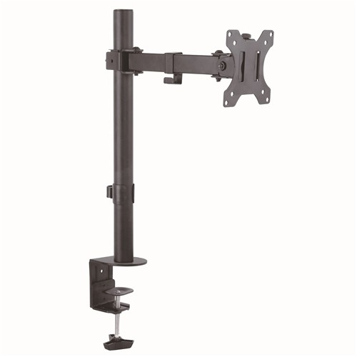 "GlobalTone Full Motion Flat Panel Computer Monitor Desk Mount For Screen 13"" To 32"""