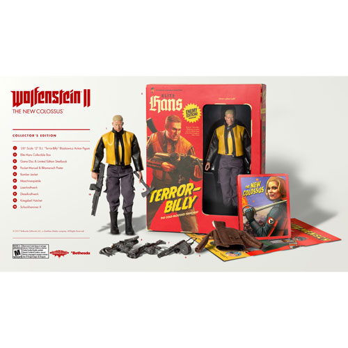 Wolfenstein II: The New Colossus Collector's Edition (PC)
