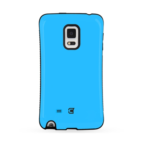 Galaxy Note Edge Shock Express Case - Sky Blue