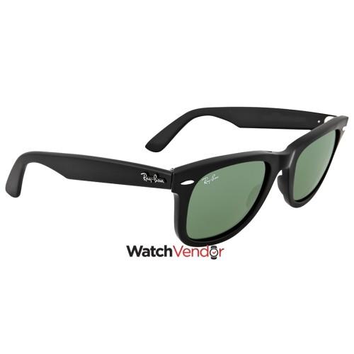 6b9ed2934a94b Overview. Ray Ban Original Wayfarer Black 50mm Sunglasses RB2140-901-50-22