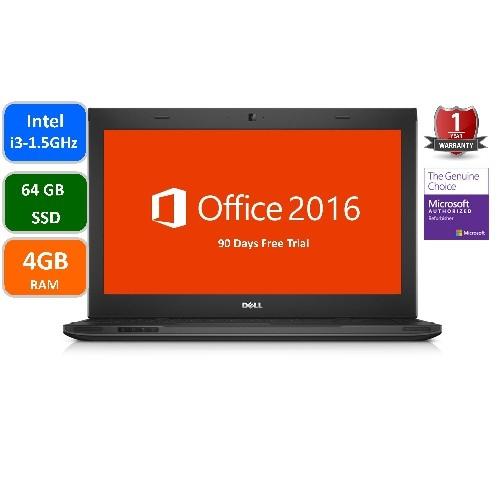 Dell Latitude E3330, Intel i3-2375-1.5 GHz, 4GB Memory, 64 GB SSD, Windows 10 Home, 1 year warranty-Refurbished