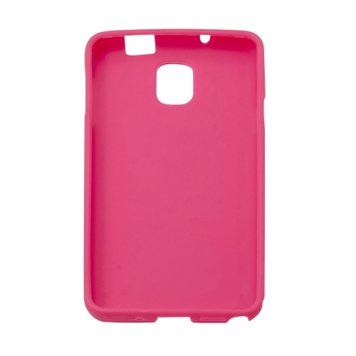 Soft TPU Gel Back Case Cover for Samsung Galaxy Note 3 III - Hot Pink