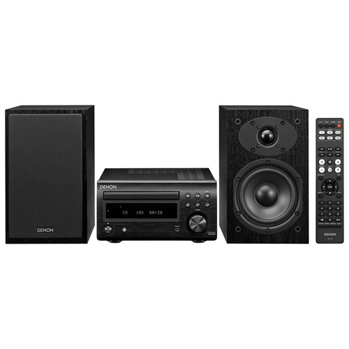 Denon D-M41 Mini HiFi CD System with Bluetooth