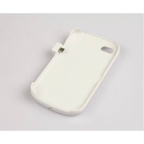 2800 mAh External Backup Battery Charge Case for the BlackBerry Q10 - White