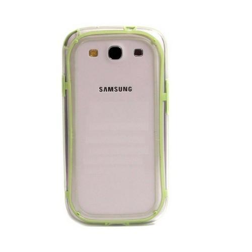 TPU Bumper Case for Samsung Galaxy S3 i9300 - Light Green
