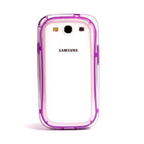 VSER TPU Bumper Case for Samsung Galaxy S3 i9300 - Purple