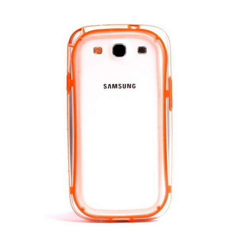 VSER TPU Bumper Case for Samsung Galaxy S3 i9300 - Orange