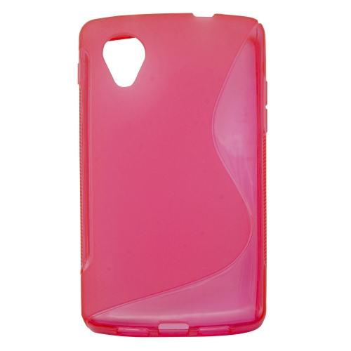 Esource Parts Fitted Soft Shell Case for Nexus - Hot Pink