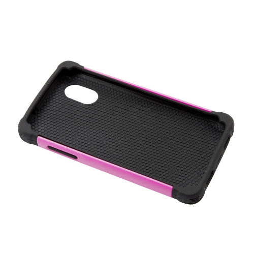 Esource Parts Fitted Hard Shell Case for Nexus - Hot Pink;Black