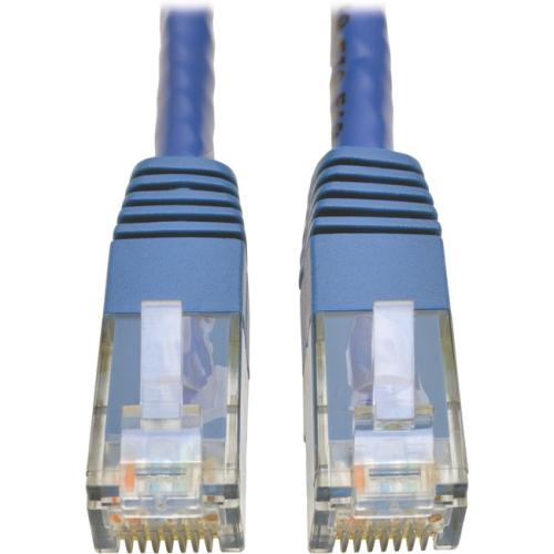 MOLDED PATCH RJ45 M/M 550MHZ BLUE 3