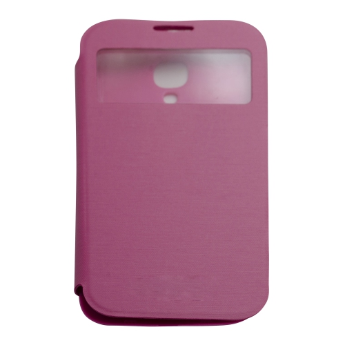 Flip Case Cover for Samsung Galaxy S4 i9500 - Hot Pink