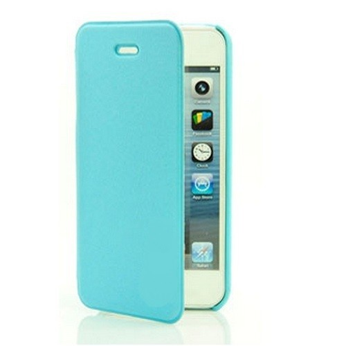MALA Series Leather Shell Case for Samsung Note 2 N7100 - Light Blue