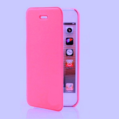 MALA Series Leather Shell Case for Samsung Note 2 N7100 - Hot Pink