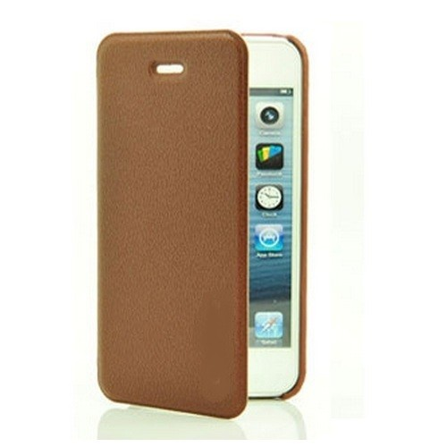 MALA Series Leather Shell Case for Samsung Note 2 N7100 - Brown