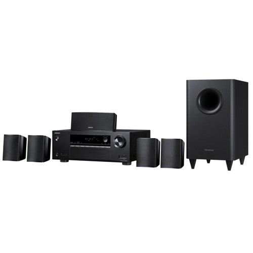 Onkyo HT-S3800 5.1 Channel 3D Home Theatre System, Refurbished, English