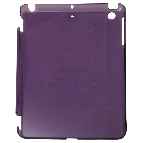 Coque intelligente à dos rigide transparente pour iPad Mini - Violet