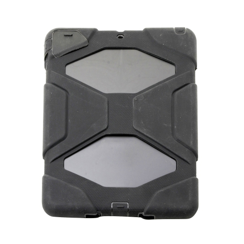 Heavy Duty Protective Case Cover for Apple iPad Air - Black
