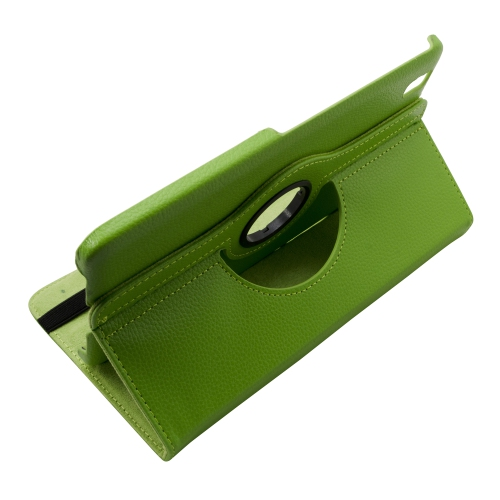 360 Rotating Leather Portfolio Case Cover For Samsung Galaxy Tab Pro 8.4 - Green
