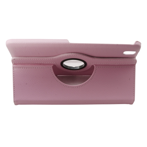 360 Rotating Leather Portfolio Case Cover For Samsung Galaxy Tab Pro 8.4 - Pink