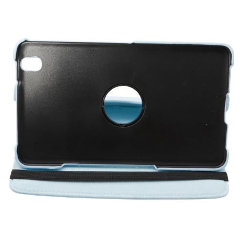 360 Rotating Leather Portfolio Case Cover For Samsung Galaxy Tab Pro 8.4 - Blue