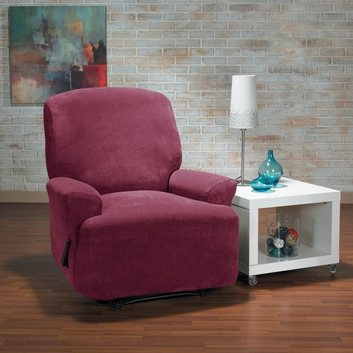 surefit™ Hanover 1-piece Stretch Recliner in Merlot
