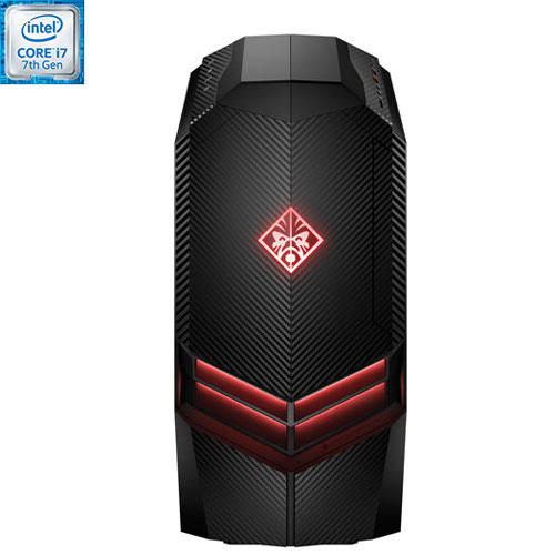 Ordi jeu OMEN de HP (Core i7-7700 Intel/DD 2 To/SSD 256 Go/RAM 16 Go/GeForce GTX 1070 NVIDIA/Win 10)