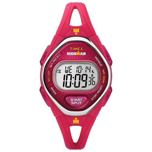 a237cf7511ec Timex IRONMAN 42mm Women s Digital Sport Watch with Chronograph - Pink -  Online Only