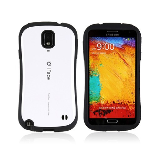 iFace Shock-absorbing Hard Case for Samsung Galaxy Note 3 III - White