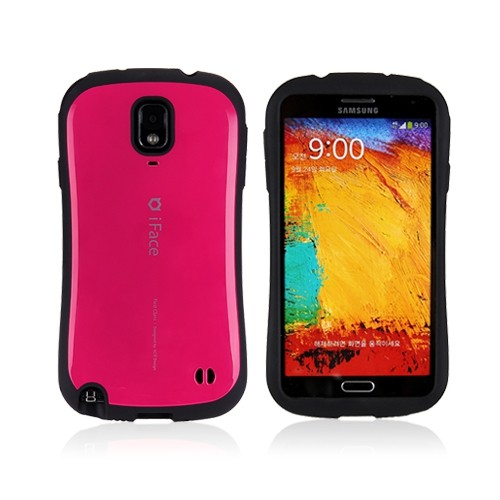 iFace Shock-absorbing Hard Case for Samsung Galaxy Note 3 III - Hot Pink