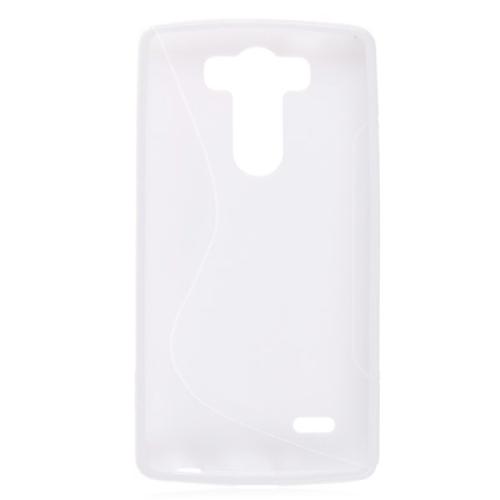 Coque rabattable transparente en gel silicone TPU pour Samsung Galaxy S3 S III i9300 - Rose