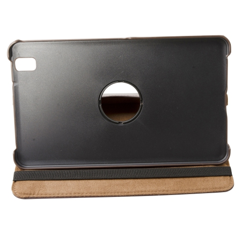 360 Rotating PU Leather Portfolio Case Cover for Samsung Galaxy Tab Pro 8.4 - Brown