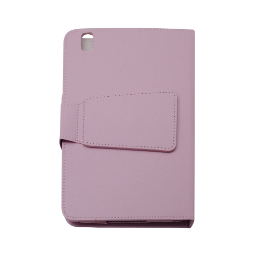 "Bluetooth Keyboard Leather Case Cover for Samsung Galaxy Tab 4 8.4"" - Pink"