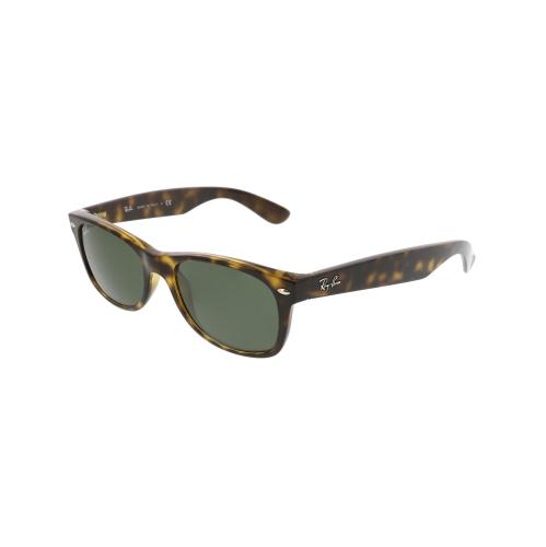92b96f0c37 Ray-Ban New Wayfarer Tortoise Green 52mm Sunglasses RB2132 902 52-18    Sunglasses - Best Buy Canada