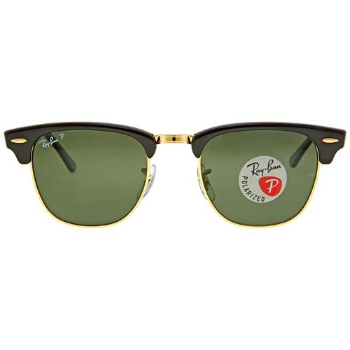 2e575c65571fe Ray Ban Clubmaster Classic Green Classic G-15 Sunglasses RB3016 901 ...
