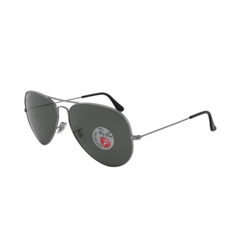 1159707119 Aviator Classic Polarized Green Classic G-15 Sunglasses RB3025-00458-62    Sunglasses - Best Buy Canada