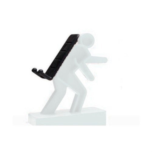 Creative Mobile Phone Stand/ Holder for IPhone/ IPod/ Mp3/ Touch - White